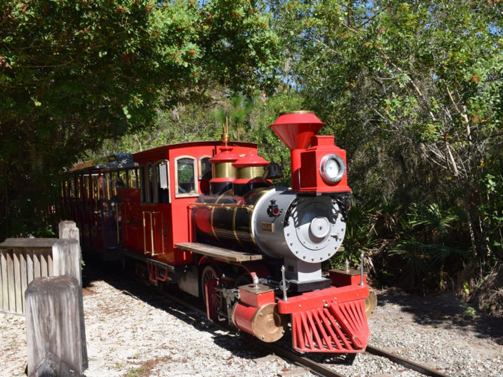 gatorland red touring train